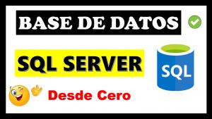 base de datos sql server