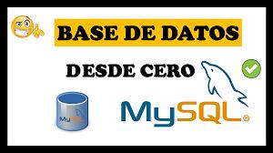 crear base de datos en mysql