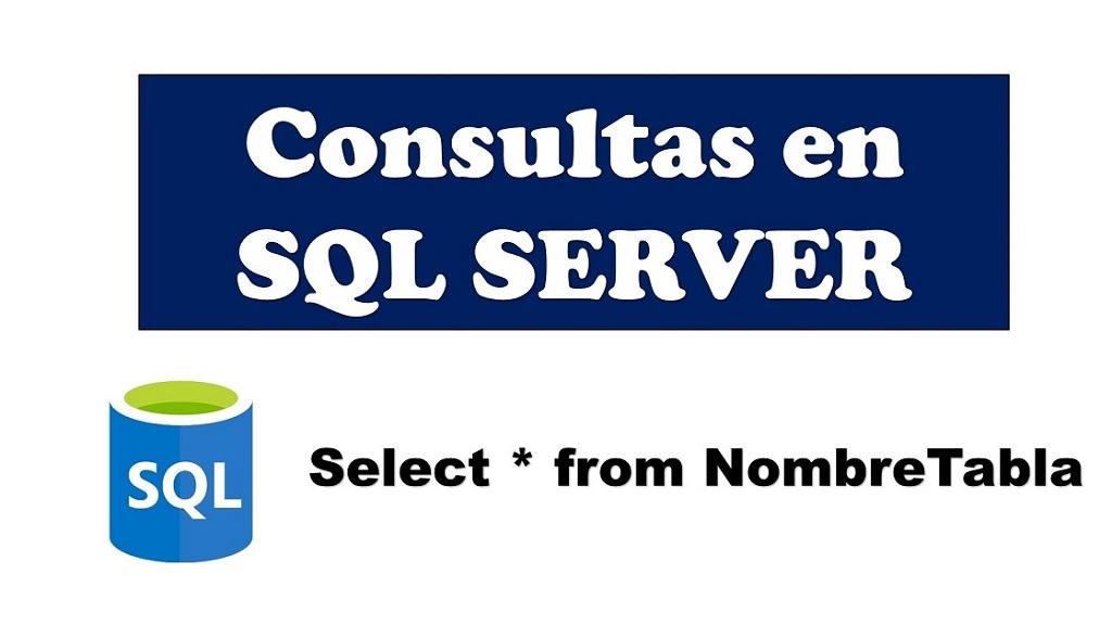 como hacer consultas en sql server